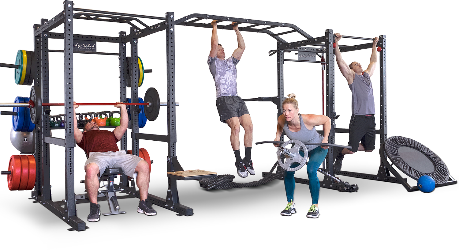 Body-Solid SPR1000 complete Power Rack